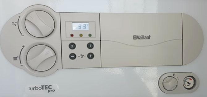 Vaillant kombi sıcak su ayarı