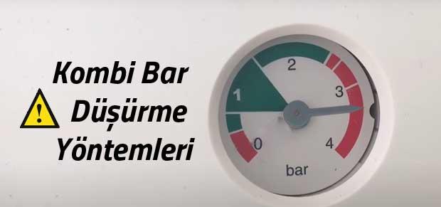 Kombi Bar Düşürme Yöntemleri